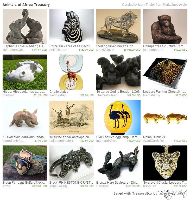 Animals of Africa Treasury