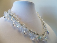 Swarovski Crystal AB Necklace (over 200 crystals), 2008