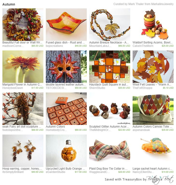 Autumn Etsy Treasury