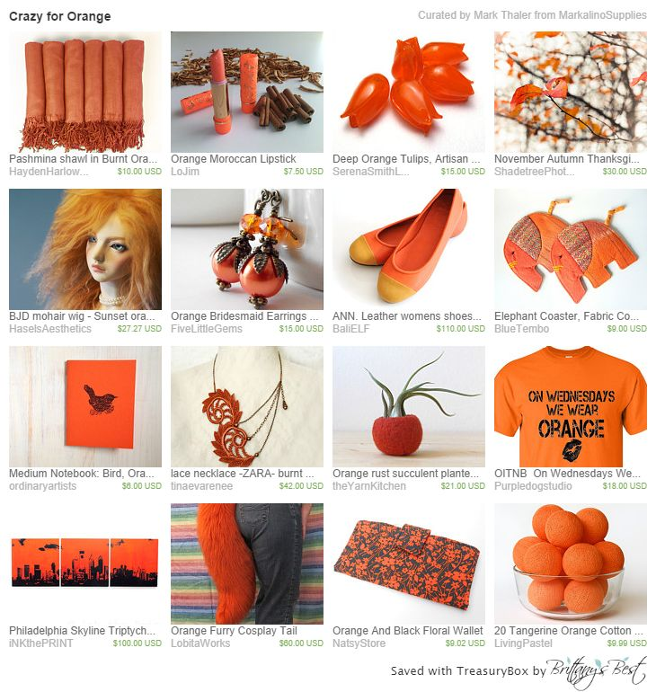 Crazy for Orange