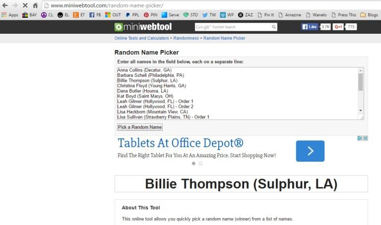 WinnerBillieThompson